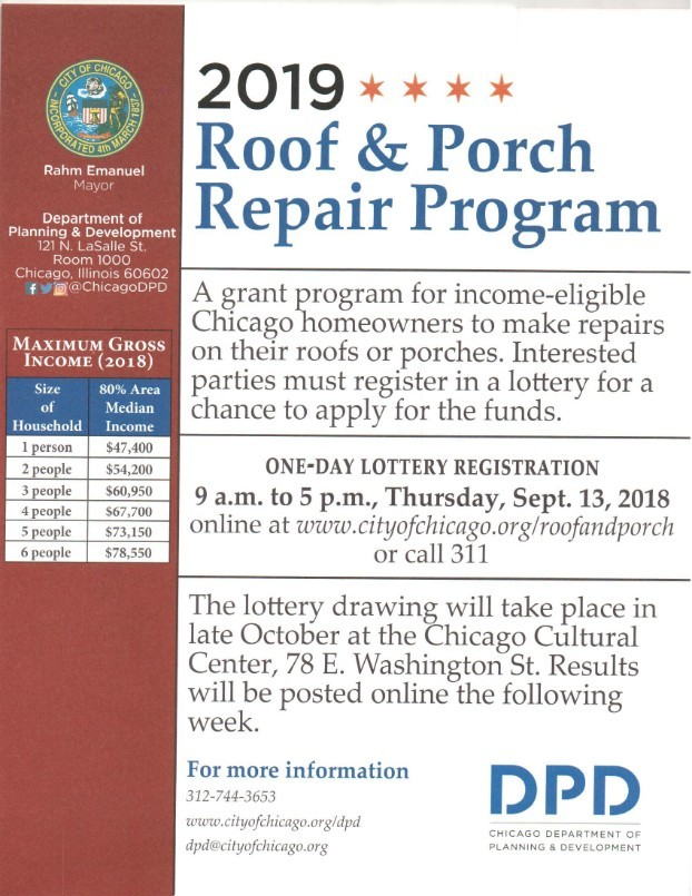 Chicago Porch Code